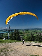 Gliding in The Alps